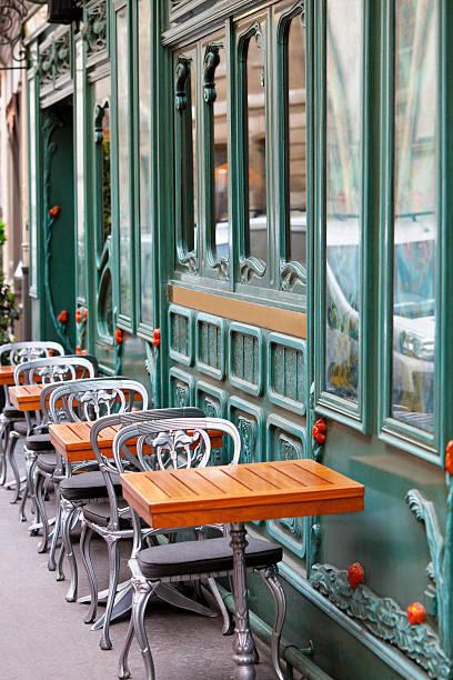 Restaurant in Art Nouveau Style, Paris, Saint Germain, France:スマホ壁紙(壁紙.com)
