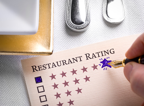 Choosing「Restaurant Rating」:スマホ壁紙(4)