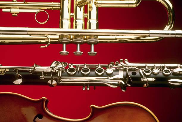 Trumpet, Clarinet, and Violin:スマホ壁紙(壁紙.com)