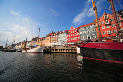 Denmark「Nyhavn canal, Copenhagen」:スマホ壁紙(8)