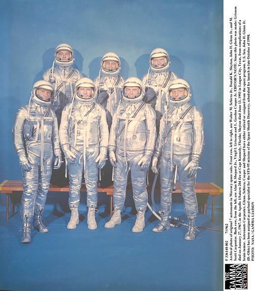 Astronaut「Original 7 Astronauts In Mercury Space Suits」:写真・画像(16)[壁紙.com]
