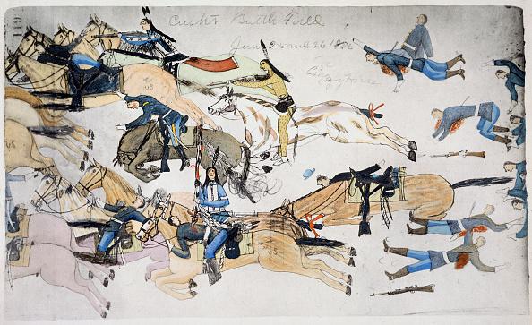 Photography「Battle Of Little Bighorn Montana USA 25-26 June 1876 (circa 1900)」:写真・画像(16)[壁紙.com]