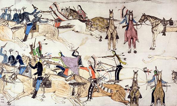 動物「Battle Of Little Bighorn Montana USA 25-26 June 1876 (circa 1900)」:写真・画像(19)[壁紙.com]
