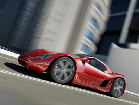 Sports Car「Speeding Sports Car」:スマホ壁紙(16)