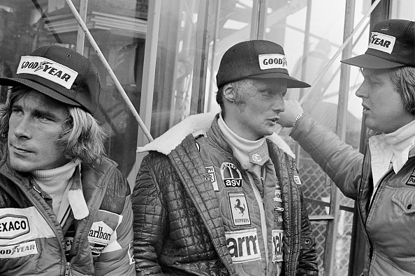 Japanese Formula One Grand Prix「James Hunt, Niki Lauda, Ronnie Peterson, Grand Prix Of Japan」:写真・画像(17)[壁紙.com]