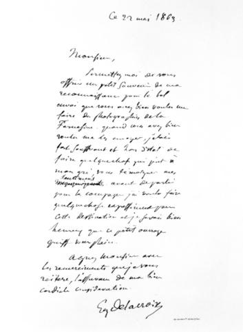 19th Century「Eugene Delacroix's manuscript, 1863」:スマホ壁紙(12)