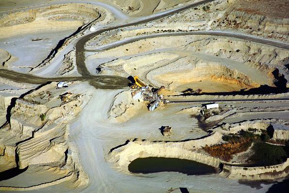 Azusa - California「Quarry, San Gabriel Valley, California, USA, aerial view」:写真・画像(5)[壁紙.com]