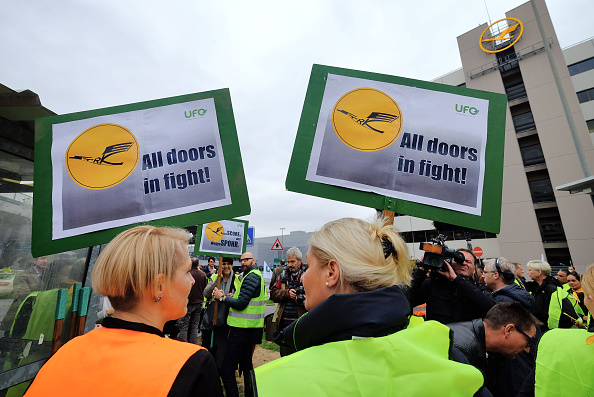 Lufthansa「Lufthansa Flight Crews Launch Strike」:写真・画像(9)[壁紙.com]