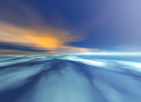 雲「Abstract sky」:スマホ壁紙(17)