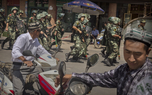 Kashgar「China Steps Up Security Following Xinjiang Unrest」:写真・画像(2)[壁紙.com]