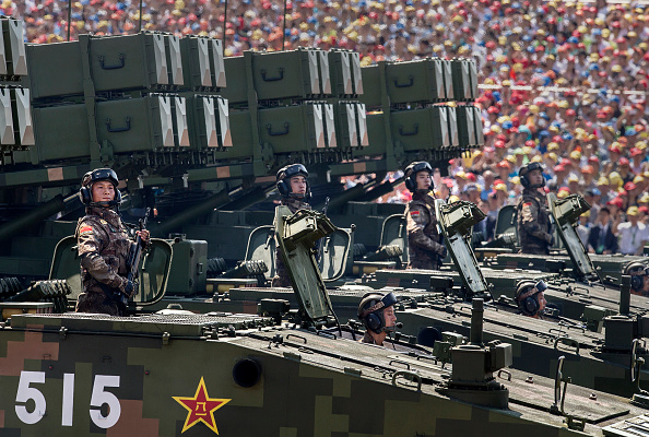 Army「China Holds Military Parade To Commemorate End Of World War II In Asia」:写真・画像(2)[壁紙.com]
