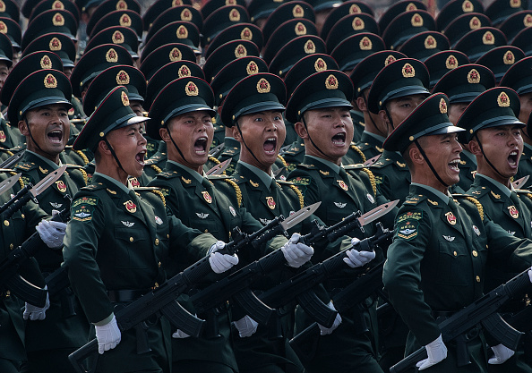 Army Soldier「70th Anniversary Of The Founding Of The People's Republic Of China - Military Parade & Mass Pageantry」:写真・画像(8)[壁紙.com]