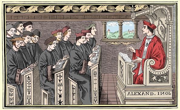 16th Century「A Schoolhouse」:写真・画像(9)[壁紙.com]