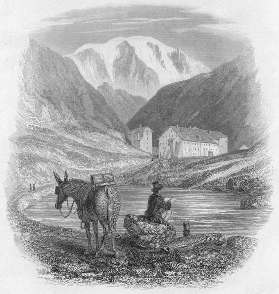 Passenger「'The Pass Of The Great Saint Bernard - Hospice Of The Great St. Bernard', 1828」:写真・画像(12)[壁紙.com]