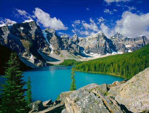 Moraine Lake「Canadian Rockies In Banff NP」:スマホ壁紙(19)
