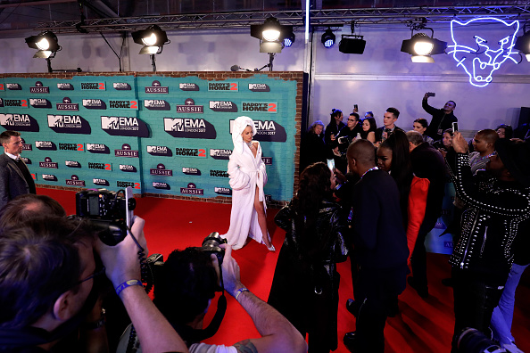 MTVヨーロッパ音楽賞「MTV EMAs 2017 - Red Carpet Arrivals」:写真・画像(16)[壁紙.com]