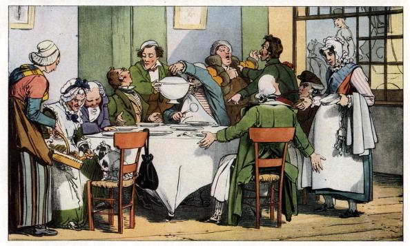 歴史「Dining in a 19th century French Inn」:写真・画像(16)[壁紙.com]