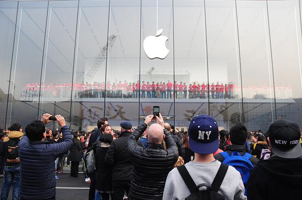 アップルストア「Apple Store Opens In Hangzhou」:写真・画像(3)[壁紙.com]
