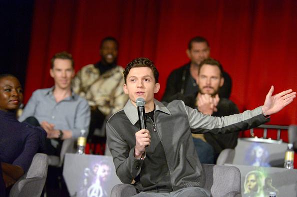 俳優「'Avengers: Infinity War' Global Press Conference」:写真・画像(4)[壁紙.com]