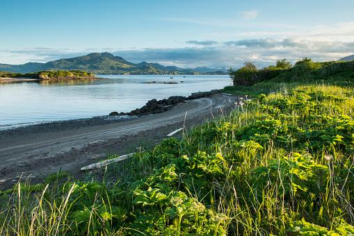 Katmai National Park「View of Kukak Bay, Katmai National Park And Preserve, Southwest Alaska, Summer」:スマホ壁紙(3)