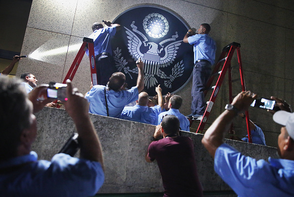 USA「John Kerry Opens American Embassy In Havana, Cuba」:写真・画像(12)[壁紙.com]