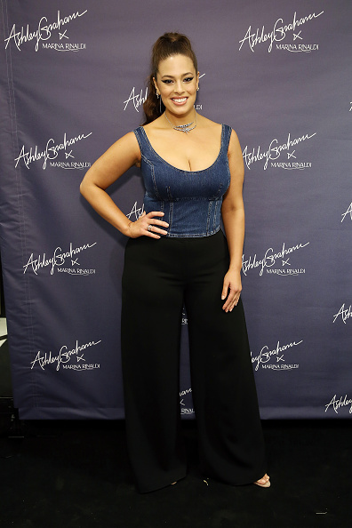 Vertical「Ashley Graham x Marina Rinaldi SS18 Denim Capsule Collection Launch」:写真・画像(18)[壁紙.com]