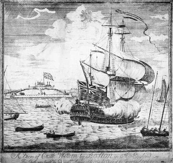 Culture Club「Castle Douglas and Man-of-War in Boston Harbor.」:写真・画像(8)[壁紙.com]