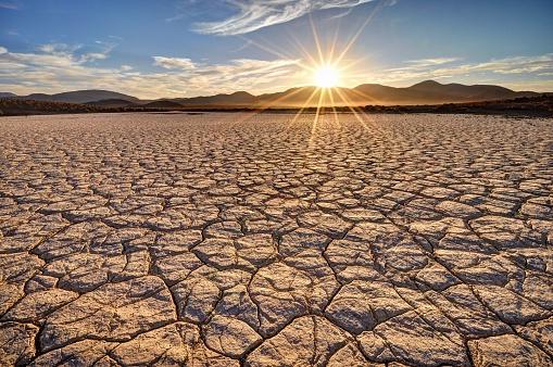 Drought「Mojave Desert Sunrise」:スマホ壁紙(14)
