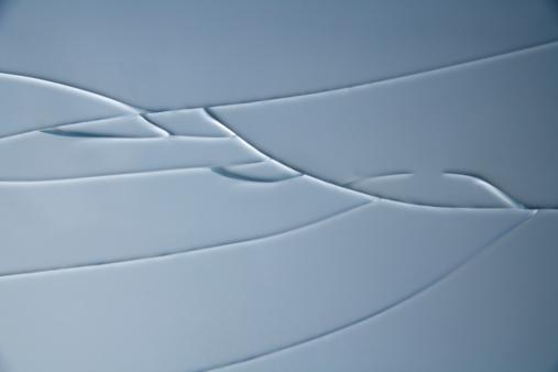 ひびが入ったガラス「'Cracked Window, close-up'」:スマホ壁紙(16)