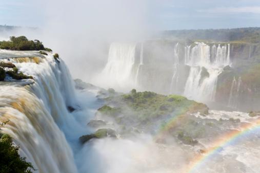 Double Rainbow「Iguacu (Iguazu) Falls, Brazil」:スマホ壁紙(17)