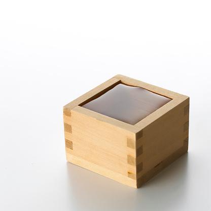 Sake「Sake in Measuring Box」:スマホ壁紙(7)