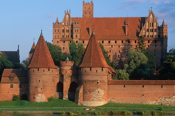 Brick Wall「Marienbourg Castle, Poland.」:写真・画像(19)[壁紙.com]
