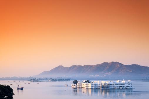 Lake Palace「India, Rajasthan, Udaipur」:スマホ壁紙(12)