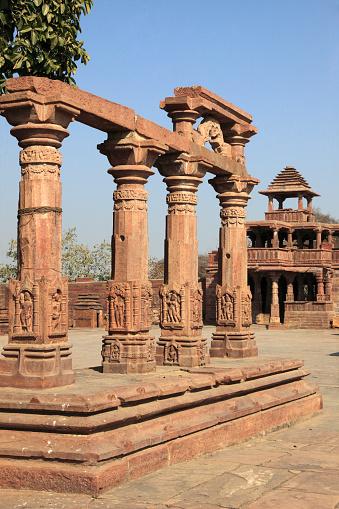 Rajasthan「India, Rajasthan, Menal, Shiva Temple,」:スマホ壁紙(12)