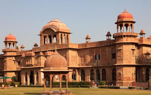 Rajasthan「India, Rajasthan, Bikaner, Lalgarh Palace,」:スマホ壁紙(2)