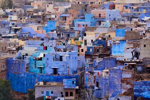 Rajasthan「India, Rajasthan, Jodhpur, the blue city」:スマホ壁紙(6)