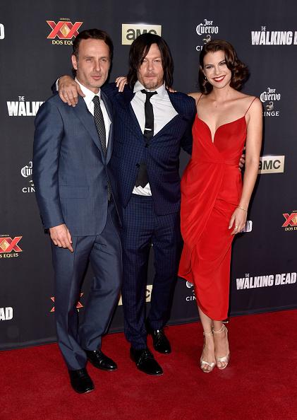"""Lauren Cohan「AMC Celebrates The Season 5 Premiere Of """"The Walking Dead"""" - Arrivals」:写真・画像(17)[壁紙.com]"""