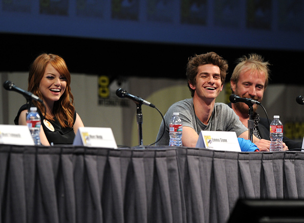 "Emma Stone「""The Amazing Spider-Man"" Panel - Comic-Con 2011」:写真・画像(12)[壁紙.com]"