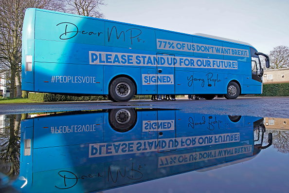 Bus「Our Future, Our Choice Activists Campaign For A People's Vote On Brexit」:写真・画像(4)[壁紙.com]