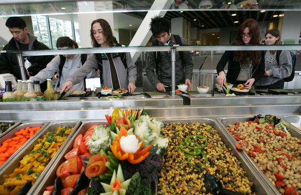 Salad「UC Berkeley Unveils Nation's First Organic Food Service」:写真・画像(8)[壁紙.com]