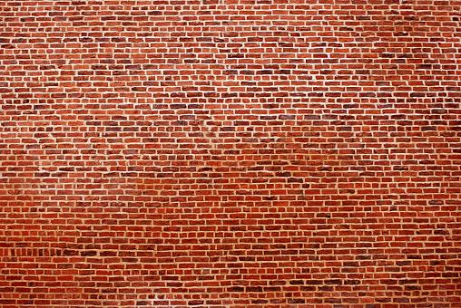 Brick Wall「Big red brick wall」:スマホ壁紙(15)