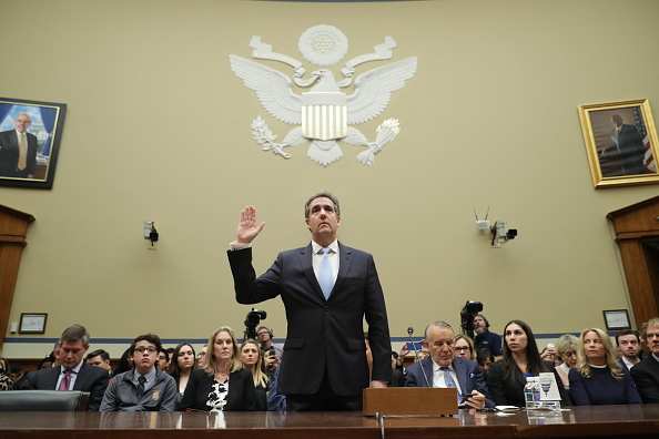 Organized Group「Former Trump Lawyer Michael Cohen Testifies Before House Oversight Committee」:写真・画像(15)[壁紙.com]