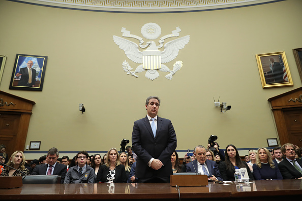 Testimony「Former Trump Lawyer Michael Cohen Testifies Before House Oversight Committee」:写真・画像(11)[壁紙.com]