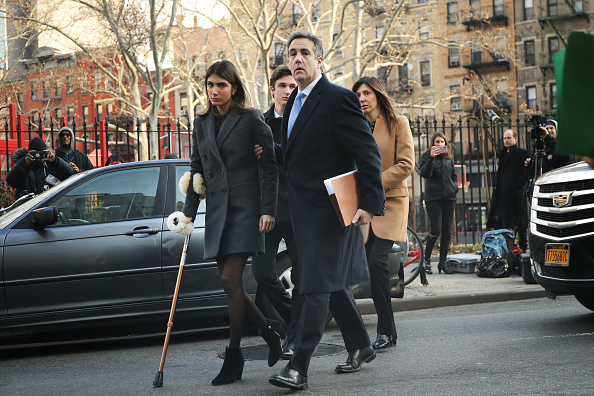 MAGA「Former Trump Lawyer Michael Cohen Attends His Sentencing Hearing」:写真・画像(18)[壁紙.com]