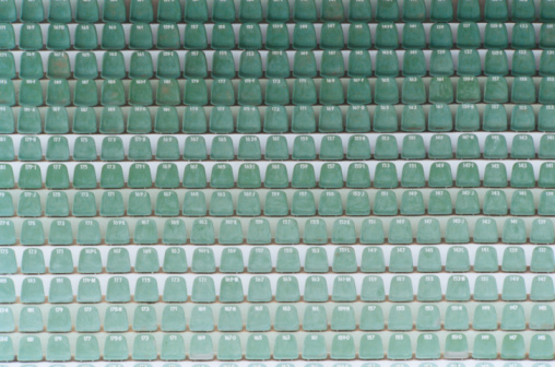 Number「Numbered Seats in Stadium」:スマホ壁紙(5)