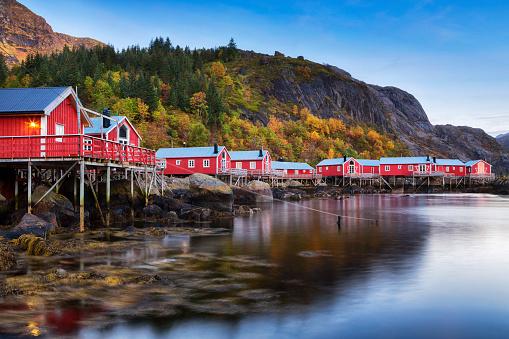 Lofoten「Nusfjord Village, Lofoten, Norway」:スマホ壁紙(10)