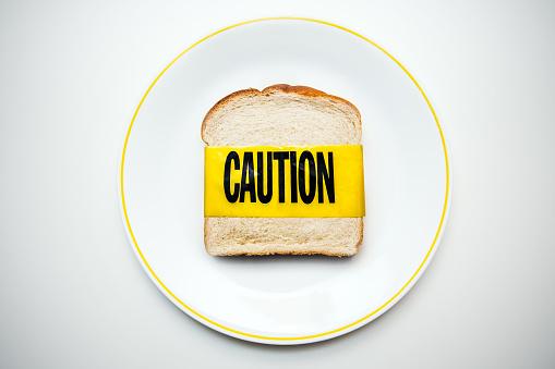 Allergy「Gluten and Wheat Allergy Caution」:スマホ壁紙(10)