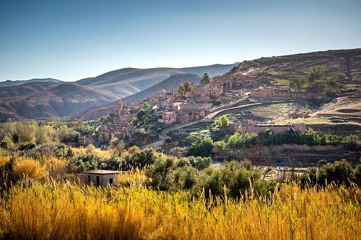Atlas Mountains「Tahannaout, Azro, Asni Valley, Morocco」:スマホ壁紙(3)