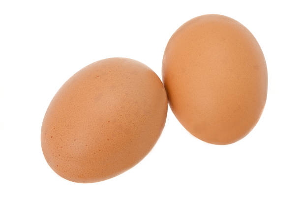 Two fresh chicken eggs:スマホ壁紙(壁紙.com)