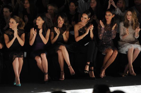 Jamie Spencer「Monique Lhuillier - Front Row - Mercedes-Benz Fashion Week Spring 2015」:写真・画像(15)[壁紙.com]